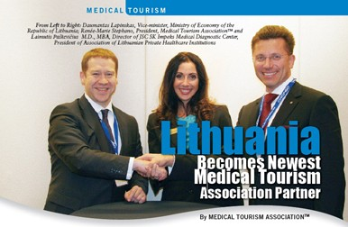 Lithuania Becomes Newest Medical Tourism Association Partner